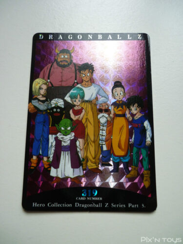 NEW Prism N°319 Hero Collection Part 3 Carte Dragon Ball Z Card DBZ