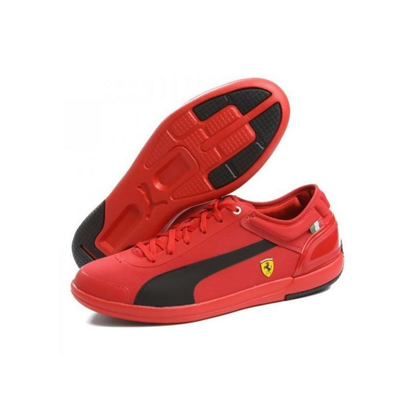 Pantoufles Ferrari Driving Power rouge Taille 45