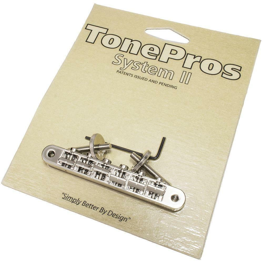 AVR2P-C TonePros ABR1 Replacement Tune-O-Matic Bridge Chrome Finish