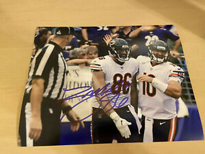 Zach Miller Chicago Bears Autographed Signed 8X10 Photo W/COA & Proof Picture