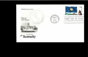 2009-FDC-Kentucky-State-Flag-Pittsbirgh-PA