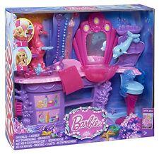 Como nuevo: mattel barbie bhm95-los mágicos perlas sirenas Salon
