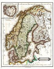 MAP ANTIQUE ANON 1709 PLAN BATTLE ALMANSA OLD LARGE REPLICA POSTER PRINT PAM0526