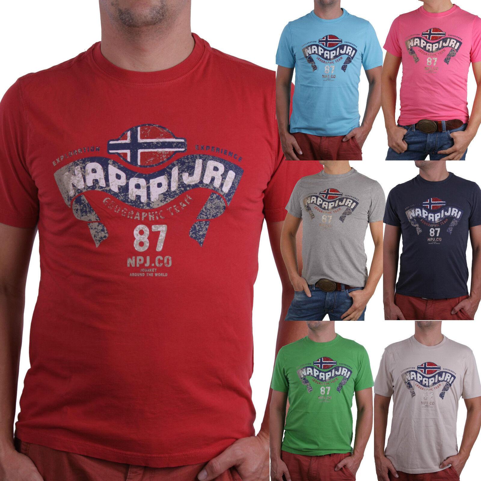 dd31f534 Napapijri T-Shirt Shirt Kurzarm Shinab Viele Farben und Größen ...