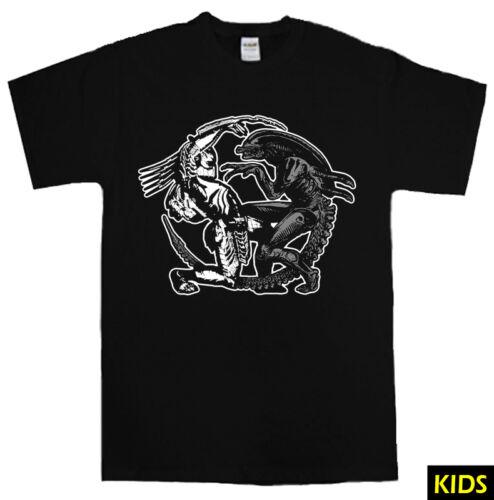 ALIEN V PREDATOR T-shirt S 5XL arnie sci fi movie film queen MEN LADIES KIDS