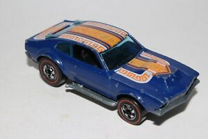 Hot Wheels Redline Mighty Maverick, Émail Bleu W / Tampo ,agréable,original