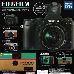 FUJIFILM-Miniature-Camera-Collection-All-5-Set-Gashapon-From-Japan-with-Tracking