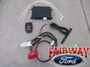 18 - 19 Escape OEM Ford Security & Bi-Directional Long Range Remote Start Kit