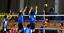 Balon-Voleibol-Suave-Al-Tacto-Size5-Amarillo-Azul-Cuero-Sintetico-Entrenamiento miniatura 9