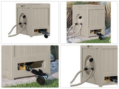Hose Reel Aquawinder Auto Rewind Durable Plastic Leather Hose Outdoor Storage