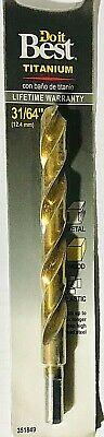 """10.4 MM 13//32/"""" Do it Best Titanium Drill Bit #351504"""
