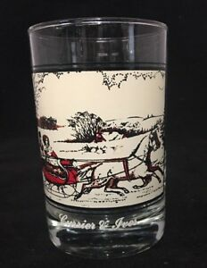 Currier-amp-Ives-Arbys-Collector-Series-The-Road-in-Winter-Glass-1981-a805-750