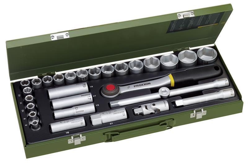 Proxxon Steckschlüsselsatz 1 2  29-tlg. 23000