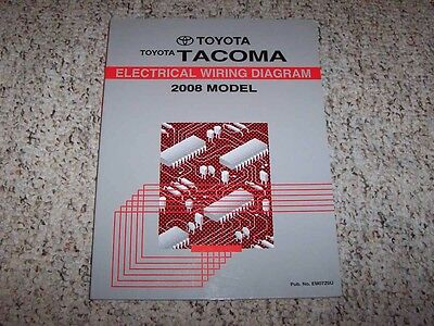 2008 Toyota Tacoma Truck Electrical Wiring Diagram Manual ...