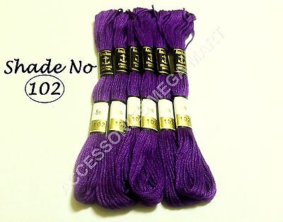 6 Anchor Cross Stitch Cotton Embroidery Thread Skeins floss best deal