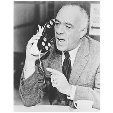 Get Smart Edward Platt as Chief Talking on Shoe Phone 8 x 10 Inch Photo