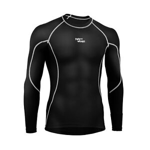 Mens-Compression-Armour-Base-Layer-Top-Full-Sleeve-Thermal-Gym-Sports-Shirt