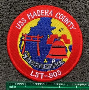 US Navy USS Madera County LST-905 Military Embroidered Patch