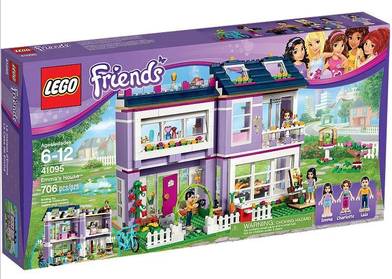 LEGO® Friends 41095 Emmas Familienhaus NEU OVP Emma's House NEU OVP NEW MISB