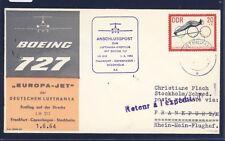 50068) LH FF Frankfurt - Stockholm 1.6.64, SoU ab Stendal DDR Sport Ski