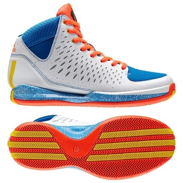 NEW~Adidas ROSE 3 MICHIGAN AVE Derrick crazy Basketball light fast Shoe~Men 10.5