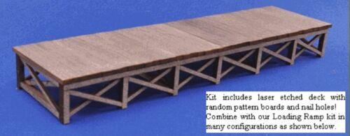 Blair LINE 172 Wooden loading DOCK BANCHINA traccia h0 1:87 LASER CUT