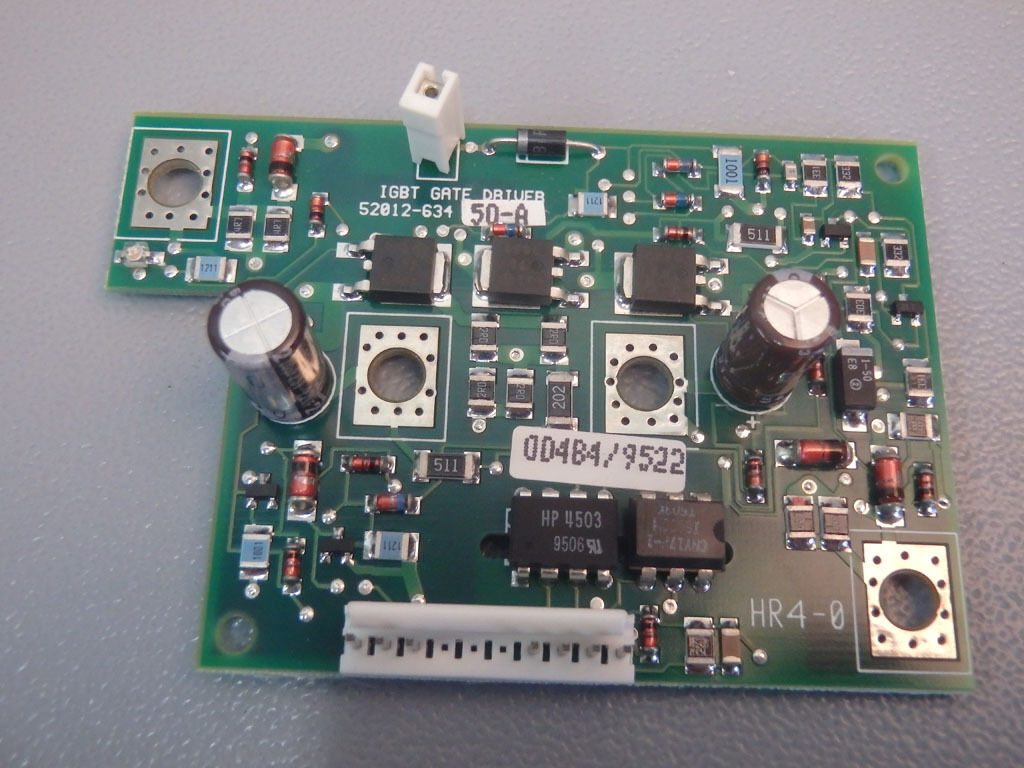 5201263450A  - TELEMECANIQUE -  52012-634-50A   GATE DRIVE BOARD ATV66 USED