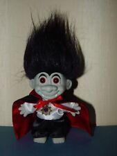 "NEW IN ORIGINAL WRAPPER HALLOWEEN DRACULA//VAMPIRE 3/"" Russ Troll Doll"