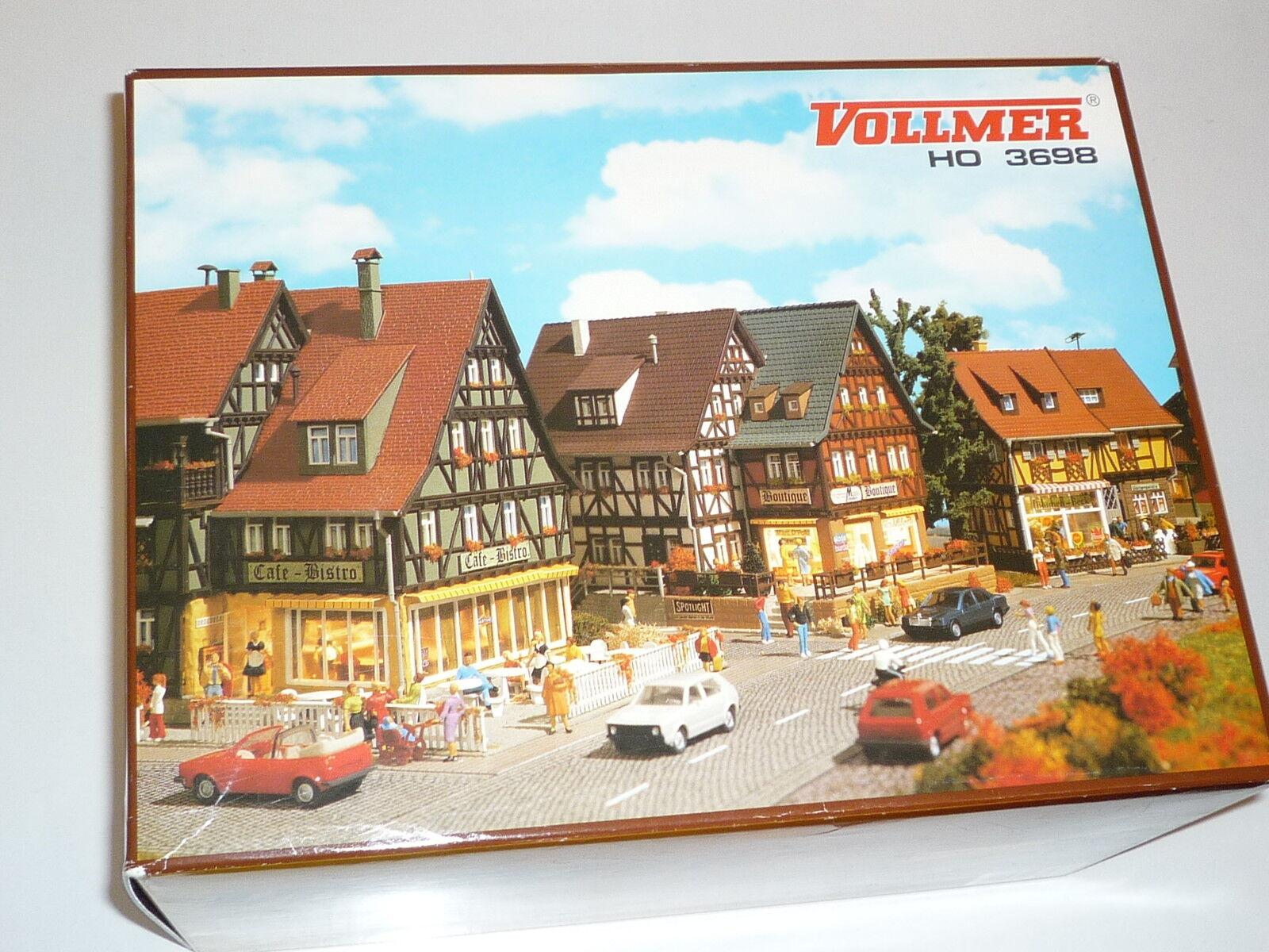 Vollmer h0 - 3698 calle del mercado-embalaje original. nuevo x167x