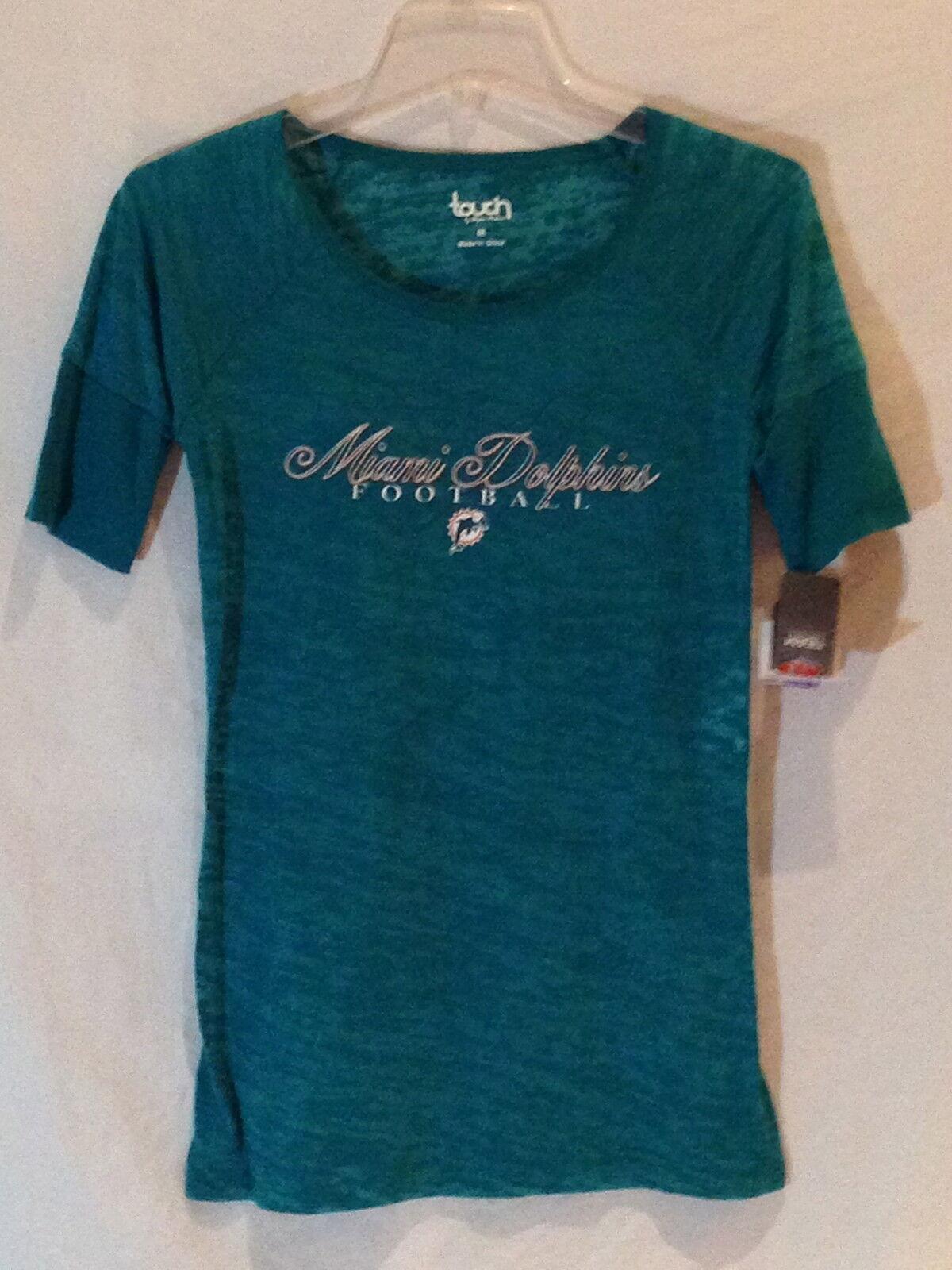 Miami Dolphins Alyssa Milano Milano Milano Touch Sammlung Shirt-Small-  1 Bestseller 9fb9c9
