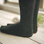 5-Pairs-Womens-Wool-Cashmere-Knee-High-Boot-Socks-Thick-Warm-Design-Solid-Winter miniature 4