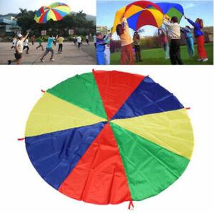 2m-Kids-Play-Ninos-Arco-Iris-Gran-Juego-de-Exterior-Juego-de-Paracaidas-Deporte-Ejercicio-Juguete