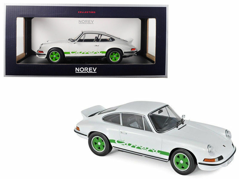 NOREV 1 18 1973 PORSCHE 911 Carrera RS Touring blanc Diecast Car 187636
