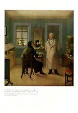 Der junge Mendelssohn Bartholdy bei Goethe Döpler Klassik Holzstich E 22171