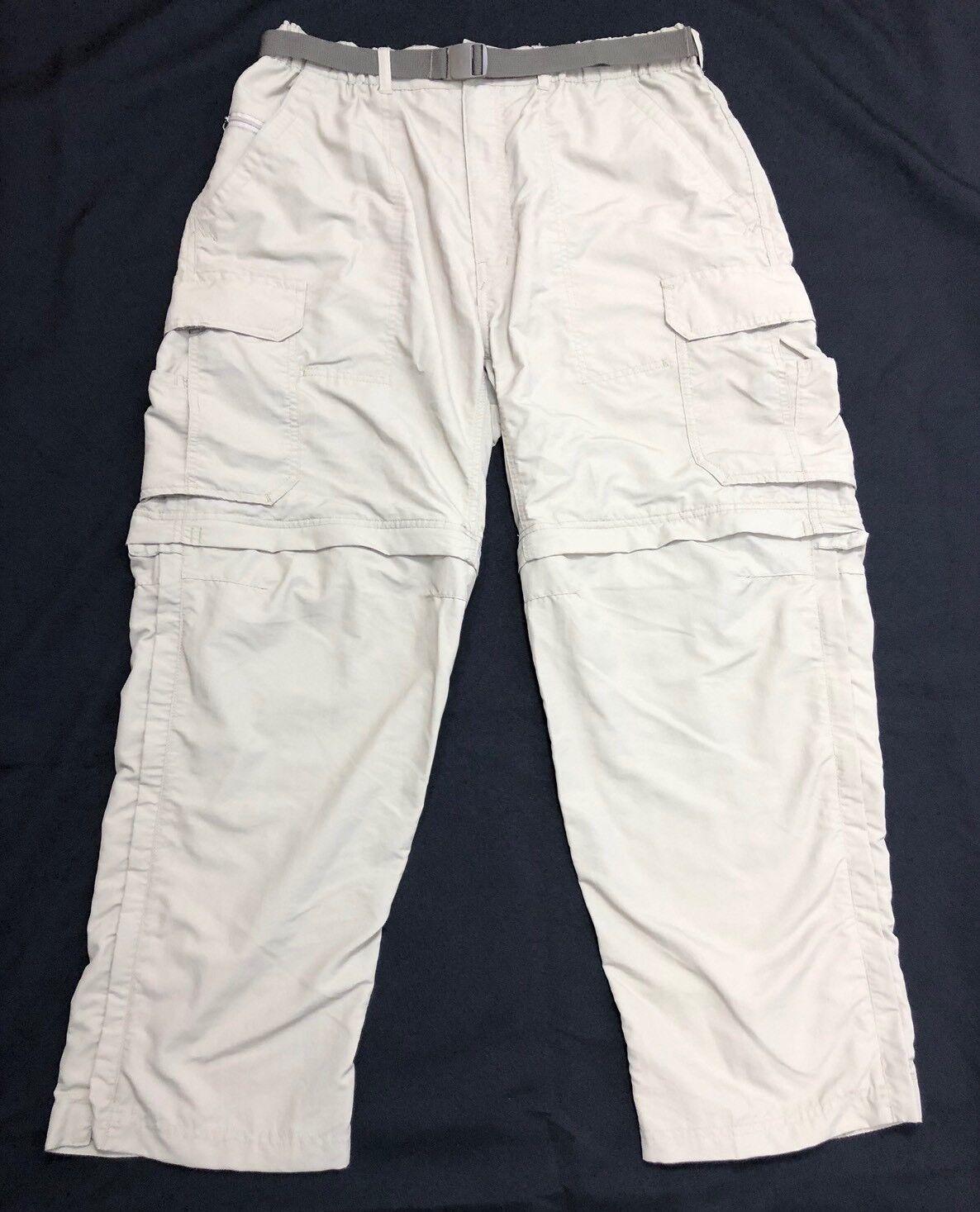 Rei UPF  50+ hombres 6 bolsillos para Senderismo y Trekking Pantalón Converdeible Pantalones Cortos Talle W32 L28  nuevo estilo