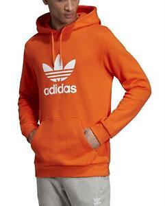 felpa adidas arancione uomo