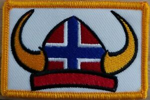 Sweden Flag Iron-On Sew Patch Gray /& Black Border Morale Tactical Version