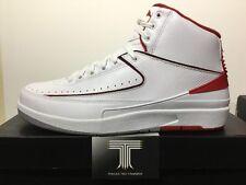 Nike Air Jordan 2 Retro Chicago Bulls ~ 385475 102 ~ Uk Size 6