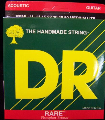 DR Strings Rare Acoustic RPML 11 Phosphor Bronze Akustikgitarrensaiten Strings
