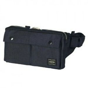 086aa085cb New Yoshida PORTER SMOKY WAIST BAG 592-07507 Navy (Blue) From JP