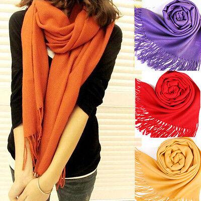Chic Women Long Warm Scarves Soft Wrap Scarf Tassels Winter Warm Shawl
