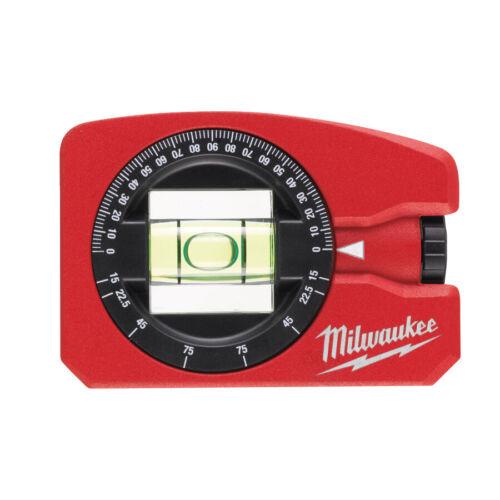 7.8 CM Milwaukee Poche Niveau à Bulle 360° Réglable Libellule Magnétique