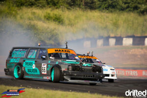 Volvo 240 V8 Huxley Motorsports British Drift Championship Legal