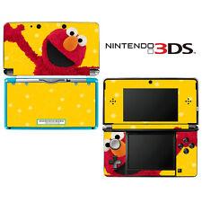 Vinyl Skin Decal Cover for Nintendo 3DS - Sesame Street Elmo Doll Muppet