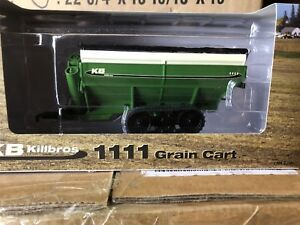 Speccast-1-64-Killbros-1111-grain-Cart-green-on-tracks
