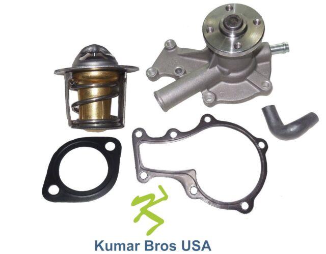 New Kubota G1700 G1800 G1800-S Water Pump with Return Hose /& Thermostat
