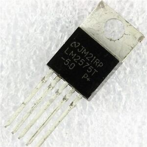 5pcs LM2575T-5.0 LM2575T 5V Switching Regulator TO-220 New