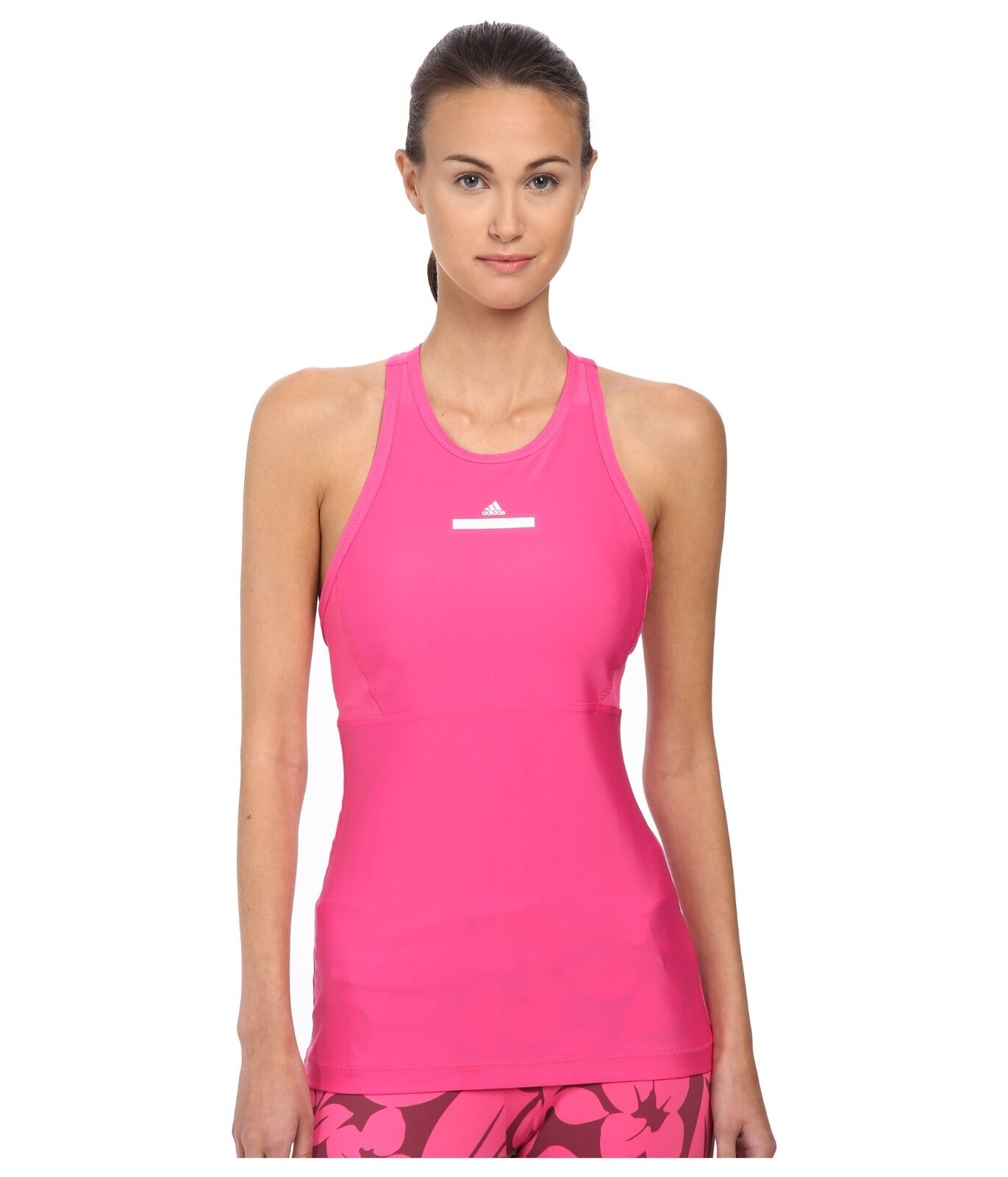 adidas by Stella McCartney Débardeur UV Perf UV HOT PINK UPF 15 pour femmes, taille L
