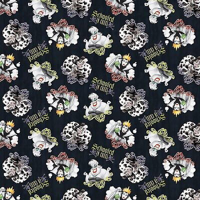 The Descendants Schooled in Cool 100/% cotton Fabric by the yard