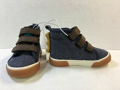Cat /& Jack Toddler Boys/' Marty Double Strap Faux Leather Sneakers Beige